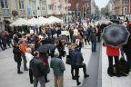Skromniejszy protest w Świnoujściu