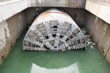 Tunel w Świnoujściu.