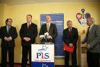 Parlamentarzyści PiS na konferencji i wyjazdowym posiedzeniu