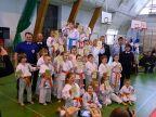 Najmłodsi karatecy na Wojewódzkiej Olimpiadzie Młodzieży