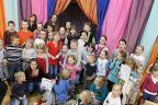 Zakończenie ferii i otwarcie dziecięcej wystawy