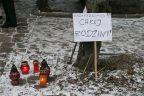 Mieszkańcy Hołdu Pruskiego protestują