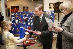 Ozdoby choinkowe po konkursie i na aukcji