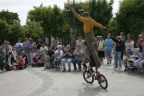 Cyrkowcy na uznamskim festiwalu
