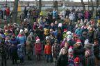 Mikołajowy zjazd ze szczytu latarni
