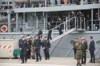 Załoga ORP Kontradmirał  X. Czernicki wróciła do  Świnoujścia