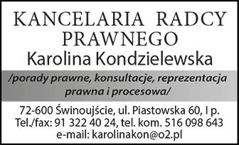 Kancelaria Radcy Prawnego Karolina Kondzielewska